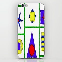 Shapes iPhone Skin