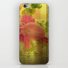 Flower Collage iPhone & iPod Skin