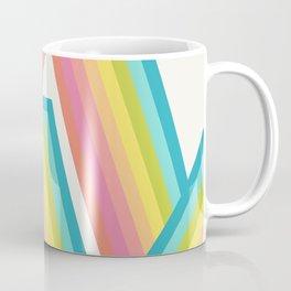 Retro Rainbow Rays Coffee Mug