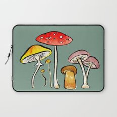 Woodland Mushrooms Laptop Sleeve