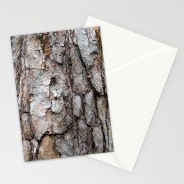 Natural Bark Wood Photo Stationery Cards