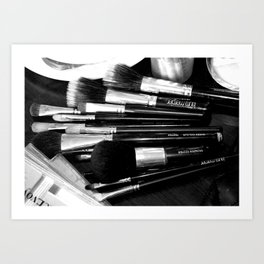 Brushes Art Print