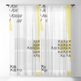 Lucky XIII | Tokyo Ghoul's Juuzou Suzuya Inspired | Sunshine Ver. Sheer Curtain