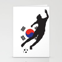 korea Stationery Cards featuring Korea Republic - WWC by Alrkeaton