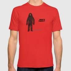 Who's tacky?  Red Mens Fitted Tee LARGE