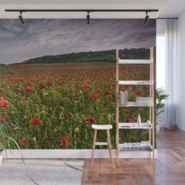 Boxley Poppy Fields Wall Mural