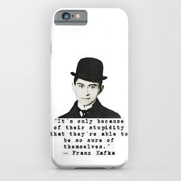 Kafka Quote iPhone Case