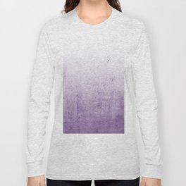Radiant Orchid Purple Ombre Long Sleeve T-shirt