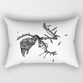 Birdbrain Rectangular Pillow