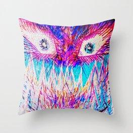 __--*:-) Throw Pillow