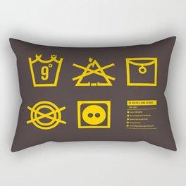 Care Instructions: Ring-bearer Rectangular Pillow