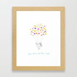Chicky Chick Framed Art Print