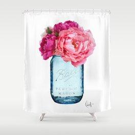 Perfect Mason Shower Curtain