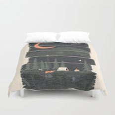 Wish I Was Camping... Duvet Cover