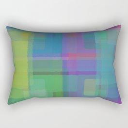 Squares#2 Rectangular Pillow