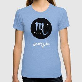 Scorpio Zodiac Watercolor T-shirt