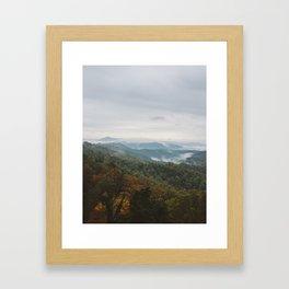Rolling Fog Framed Art Print