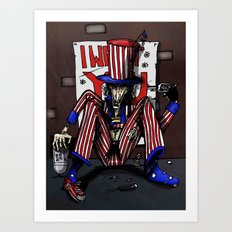 Uncle Sammy Art Print