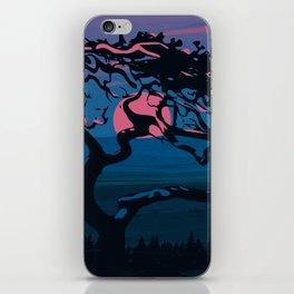 Dawn of the tree iPhone Skin