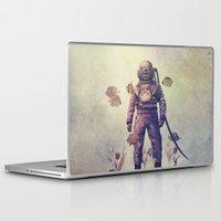 garden Laptop & iPad Skins featuring Deep Sea Garden - colour option by Terry Fan