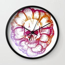Shaka Skull Wall Clock