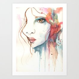 Empowered Boho Art Print