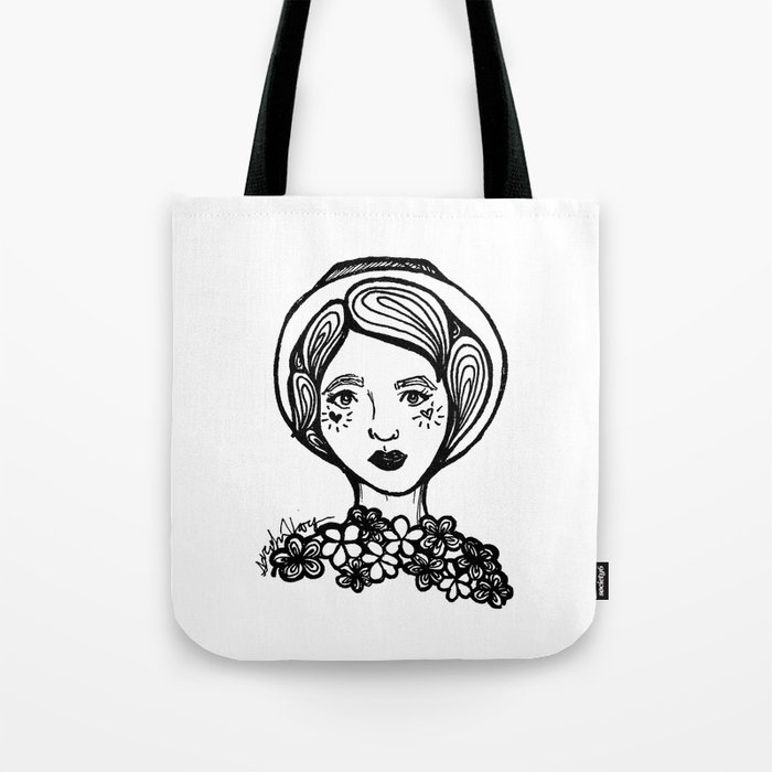 Heart Faced Tote Bag
