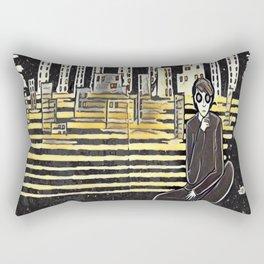 Grown up chaos Rectangular Pillow