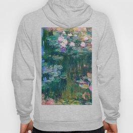 water lilies : Monet Hoody