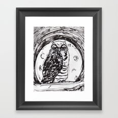 Night Owl v.1 Framed Art Print