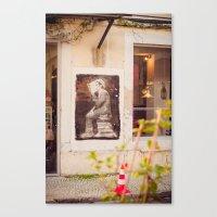 reading Canvas Prints featuring Reading by Sébastien BOUVIER