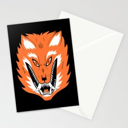 Cursed Fox Stationery Cards