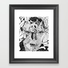 Her Beauty Framed Art Print