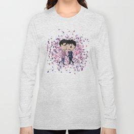 Chibi Malec Long Sleeve T-shirt