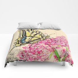 Collette's butterfly Comforters