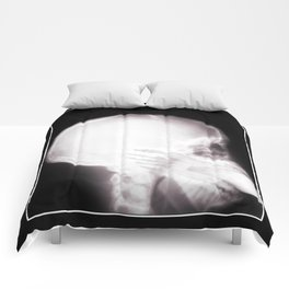 Foot In Mouth X-Ray Comforters