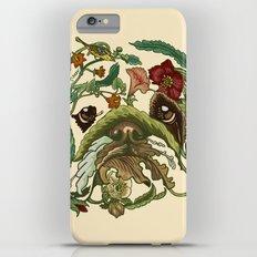 Botanical English Bulldog iPhone 6s Plus Slim Case