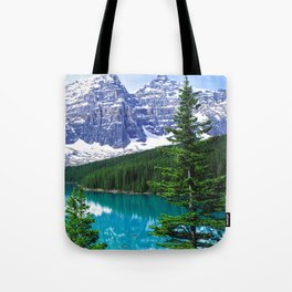 Canadian Wonder: Moraine Lake Tote Bag