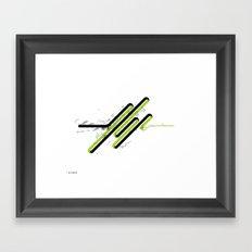 05: Refinement Framed Art Print