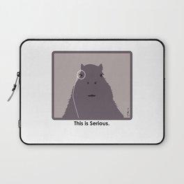 Professor Capybara III Laptop Sleeve