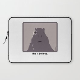 Professor Capybara III Laptop Sleeve