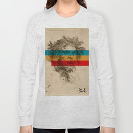 Old Satyre and suprematism Long Sleeve T-shirt
