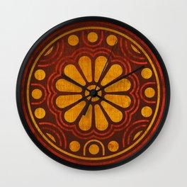 Kamon Alma –Brown Wall Clock