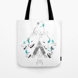 Tsarevna of the forest Tote Bag