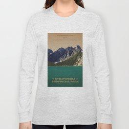 Strathcona Provincial Park Long Sleeve T-shirt