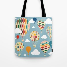 hot air ballon Tote Bag