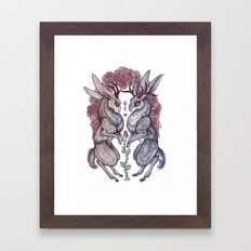 Rare Hearts Framed Art Print