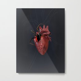 The Heart of a Loner Metal Print