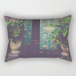 Saint Augustine Garden Rectangular Pillow