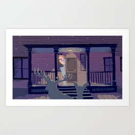 Porch Art Print